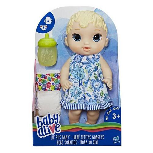 Baby Alive Lil Sips Baby Blonde