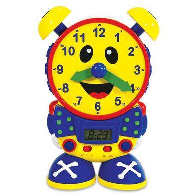BRU Infant & Preschool Telly The Teaching Time Clock- Primary