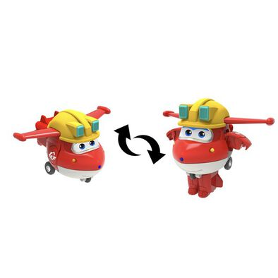 Super Wings Transform A Bots Build It Jett