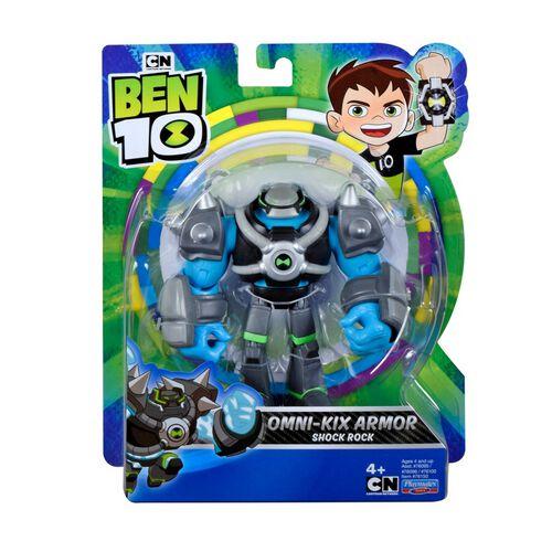 Ben 10 Armored Shock Rock Action Figure