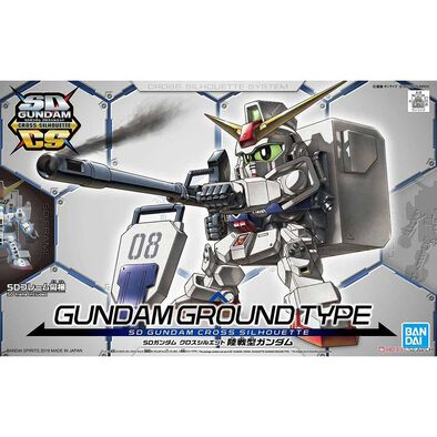 Gundam Bd* -1000 Sd Gundam Cross Silhouette - Assorted