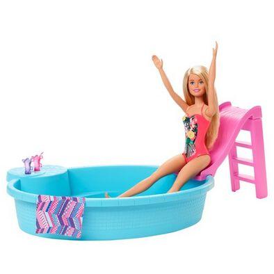 Barbie Estate Pool & Doll Blonde