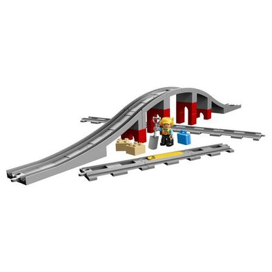 LEGO Duplo Train Bridge And Tracks 10872