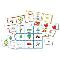 The Learning Journey -Match It!Picture Word Bingo