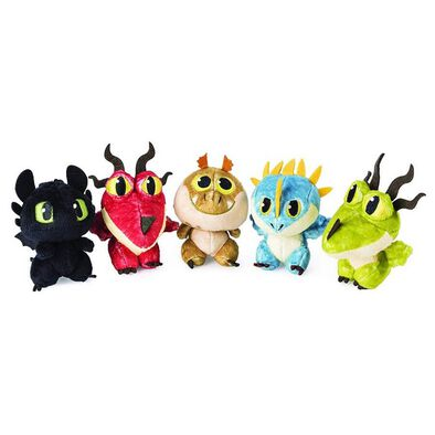 How To Train Your Dragon Soft Toy Dragon Eggs - Assorted
