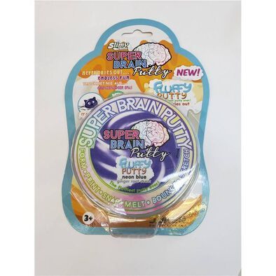 Slimy Swiss Formula Super Brain Putty Puffy Fluffy - Assorted
