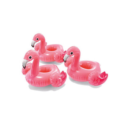 Intex Flamingo Drink Holders 3 Pack