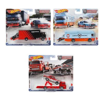 Hot Wheels Team Transport Dash K 2021 Mix 1 Set of 4 Pieces