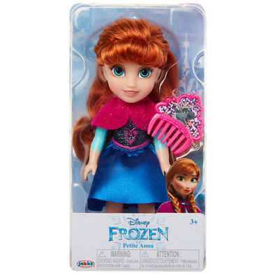 "Disney Frozen 6"" Anna Petite with Glitter"
