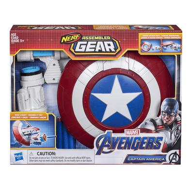 NERF Assembler Gear Marvel Avengers Captain America