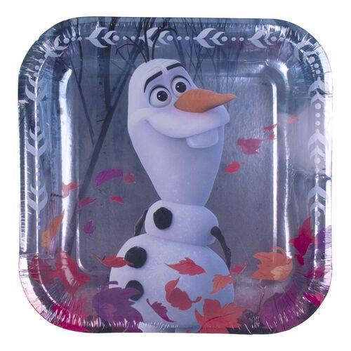 Disney Frozen 2 7 Inch Square Plate