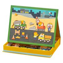 Petit Collage Mps Construction Magnetic Play Scene