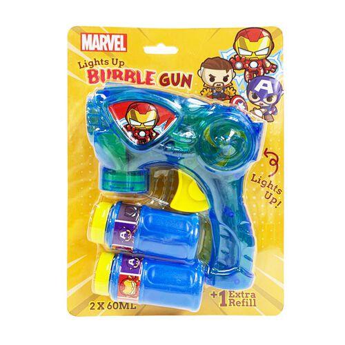 Disney Lights Up Bubble Gun - Assorted