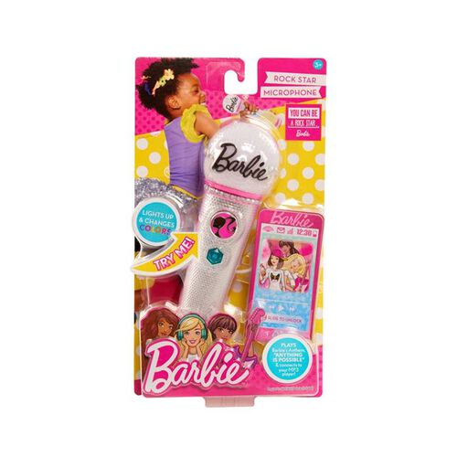 Barbie Rocking Microphone