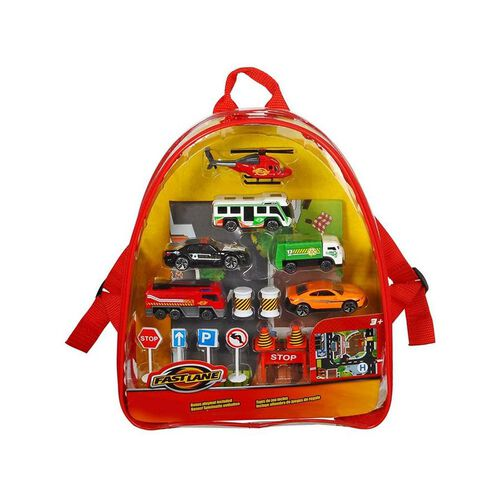 Fast Lane Diecast Backpack