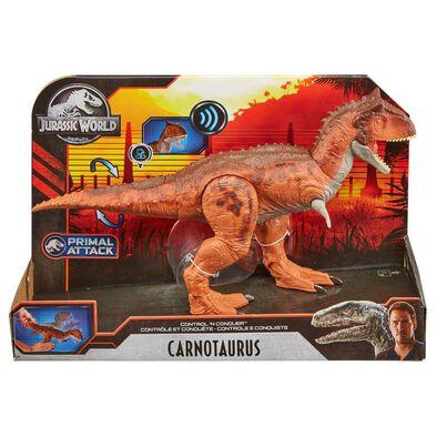 Jurassic World Primal Attack Control N Conquer Carnotaurus