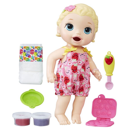 Baby Alive Super Snacks Snackin Lily