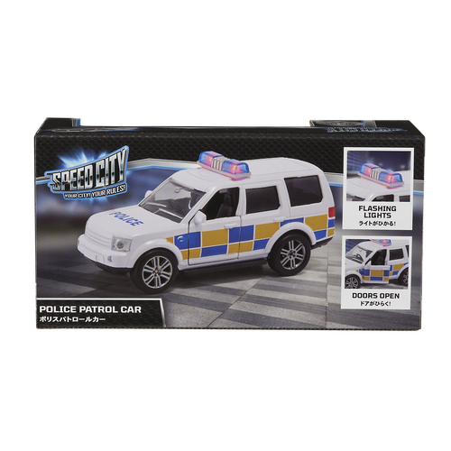 Speed City Police Patrol Car