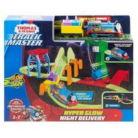 Thomas and Friends Track Master Hyper Glow Night Delivery