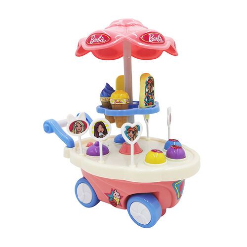 Barbie Musical and Ice Cream Cart