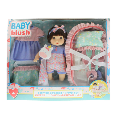 Baby Blush Scented & Packed - Travel Doll Set