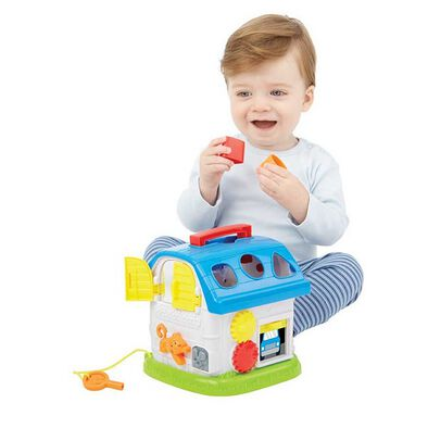 BRU Infant & Preschool Busy House With Music
