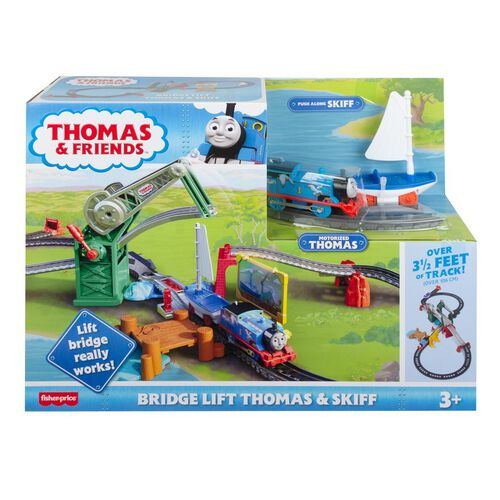 Thomas and Friends Bridge Lift Thomas & Skiff