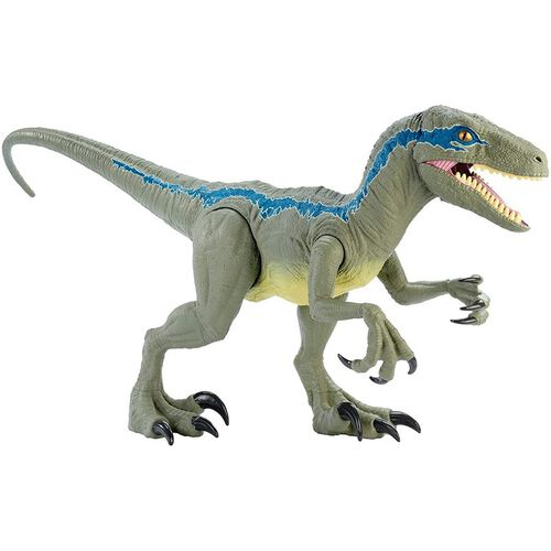 Jurassic World Velocirraptor Blue Supercolosal