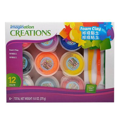 Universe Of Imagination Foam Clay Mega Set (9*30G)