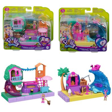 Polly Pocket Pollyville Outdoor Assorted
