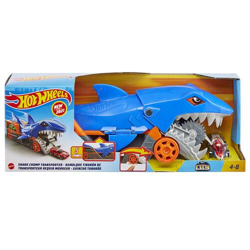 Hot Wheels City Shark Chomp Transporter