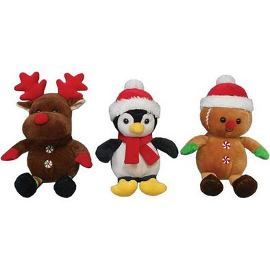 "Animal Alley 8"" Christmas Plush - Assorted"