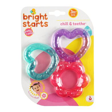 Bright Starts Pink Chill & Teethe