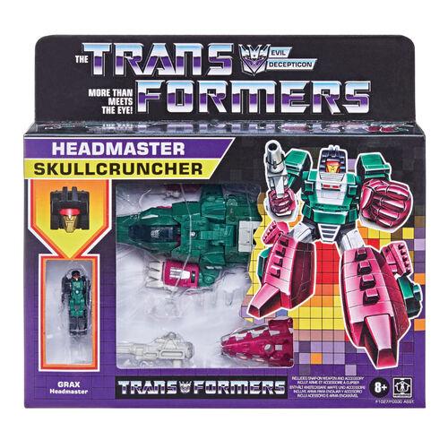 Transformers Generations Retro Headmaster Chromedome - Assorted