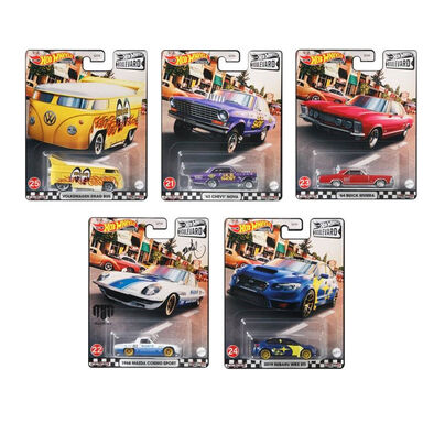 Hot Wheels Boulevard Dash E Set of 10 Pieces