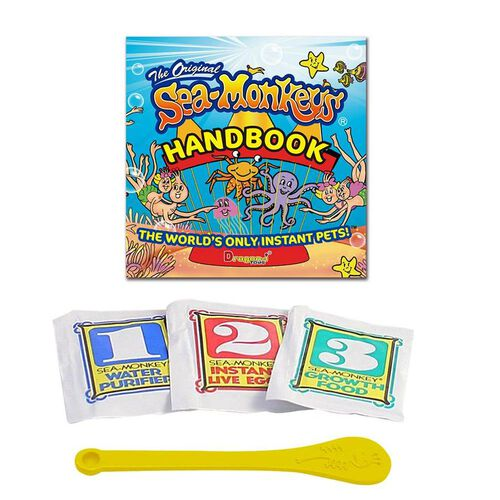 The Original Sea Monkeys Instant Life Pack