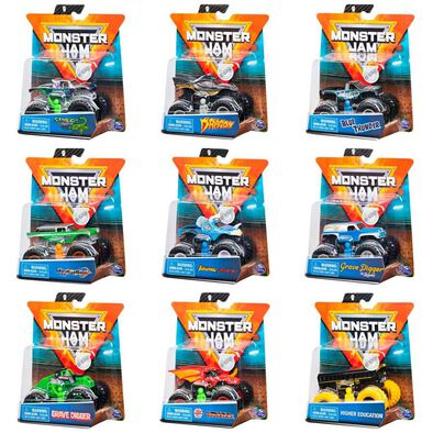 Monster Jam 1:64 Single Pack - Assorted