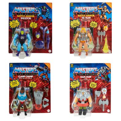 Masters Of The Universe Hyper Retro Deluxe Figure - Assorted