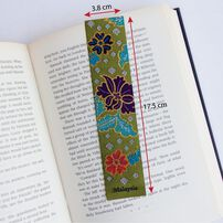 Woven Batik & Songket Bookmarks Assorted