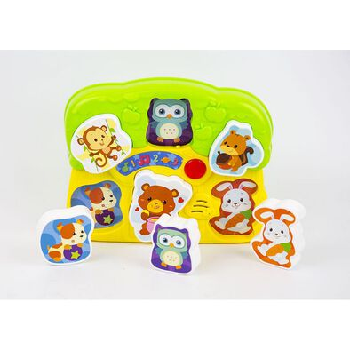 Winfun Lights 'N Sounds Animal Puzzle