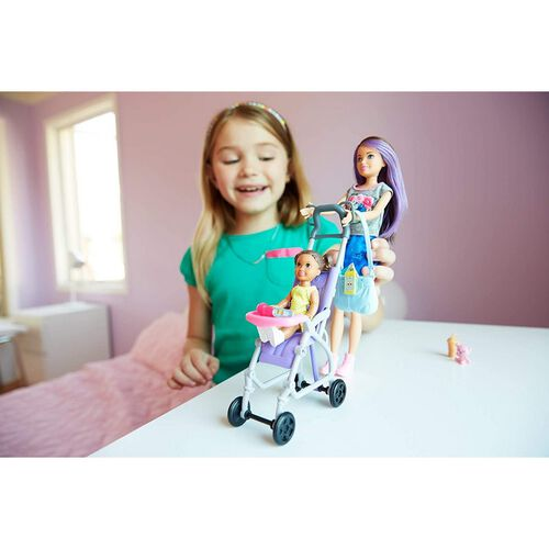 Barbie Skipper Babysitters Doll and Playset