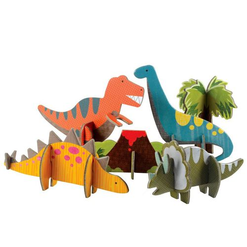 Petit Collage Pop Out Dinosaurs