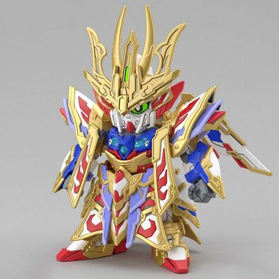 Bandai SD World Heroes Cao Cao Wing Gundam Isei Style