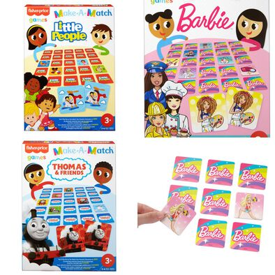 Fisher-Price Make-A-Match Games - Assorted