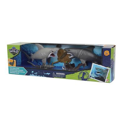 Wild Quest Ocean Animal Playset