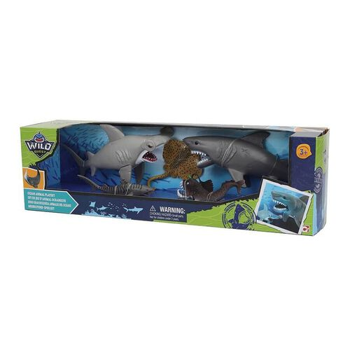 Wild Quest Ocean Animal Playset