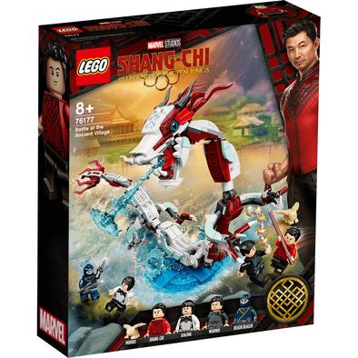 LEGO Marvel Super Heroes Battle at the Ancient Village 76177