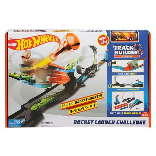 Hot Wheels Track Builder System - Rocket Launch Challenge