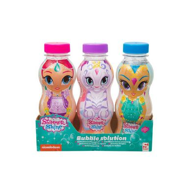 Shimmer And Shine 3 Pack Character Bubbles