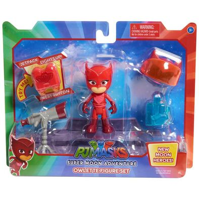 PJ Masks Super Moon Adventure Owlette Figure Set
